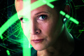 Картинка Action, Sci-Fi, Face, Computer, The, Force, Eyes, Carrie Fisher, StarWars, Princess, Leia Organa, Shine, Fantasy, ...