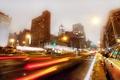 Картинка ночь, нью-йорк, night, new york, usa, nyc, East Village, 3rd Avenue