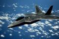 Картинка Lockheed/Boeing, пятого поколения, многоцелевой истребитель, F-22, Raptor