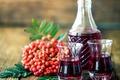 Картинка вино, Berry, Jug, рябина, Wine, Drinks