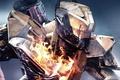 Картинка battlefield, spark, gun, powerful, titan, Bungie Software, cyborg, assault rifle, combat, bow, weapon, PlayStaton 4, ...