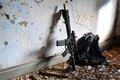 Картинка штурмовая винтовка, стена, карабин