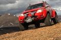 Картинка Toyota, hilux, 2010, горы
