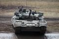 Картинка полигон, грязь, боевой, танк, Т-80