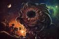 Картинка вселенная, безымянный город, Лавкрафт, Azathoth, азатот