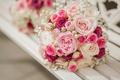 Картинка цветы, flowers, pink, bouquet, roses, букет, розы