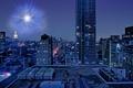 Картинка китай, ночь, город