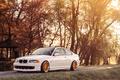 Картинка 323ci, Белая, COUPE, БМВ, Купе, Stance, White, BMW, E46