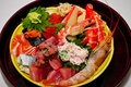 Картинка тарелка, креветка, морепродукты