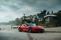 Картинка car, Z06, red, Chevrolet Corvette
