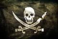 Картинка Пираты, флаг, череп