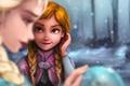 Картинка Frozen, Anna, Disney, Elsa, Холодное сердце