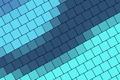 Картинка синий, голубой, квадраты, геометрия, color, material, desing