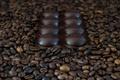 Картинка зёрна, кофе, шоколад