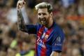 Картинка игрок, звезда, гол, радость, футболист, Барселона, football, Месси, легенда, Messi, улыбка, борода, футбол, Barcelona