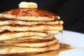 Картинка блины, еда, мед