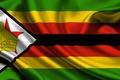 Картинка Флаг, Оранжевый, Чёрный, Текстура, Жёлтый, Зелёный, Flag, Republic of Zimbabwe, Зимбабве, Республика Зимбабве, Zimbabwe