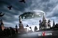 Картинка Нло, москва, кремль