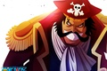 Картинка by i-sanx, Gol D. Roger, Pirate King, Gold Roger, One Piece, oriental, asiatic, asian, scarf, ...