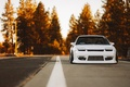 Картинка Low, Car, Yellow, Stance, 240SX, Nature, Nissan, Front