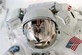 Картинка space, suit, EVA, astronaut, Extravehicular activity, white, Paul Richards, reflection, ISS, costume, cosmonaut, american, International ...