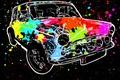 Картинка Авто, машина, краска, цвет