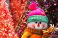 Картинка снеговик, Новый Год, праздники, Happy New Year, мишура, snowman, Christmas, елка, Рождество