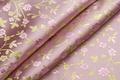 Картинка цветы, ткань, складки, узор, завитки, вышивка