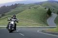 Картинка Дорога, Серпантин, Мотоцикл, Harley Davidson