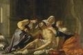 Картинка картина, Ирина и её Помощницы Ухаживают за Святым Себастьяном, Jacques Blanchard, мифология