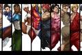 Картинка capcom, Alex, Gill, Hugo, Dudley, Makoto, Elena, Street Fighter III: 3rd Strike, Akuma, Ken Masters, ...