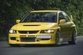 Картинка Yellow, Evolution, Lancer, Mitsubishi