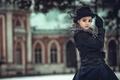 Картинка портрет, стилизация, шляпка, Анна Каренина