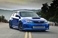 Картинка blue, front, субару, импреза, Subaru, Impreza