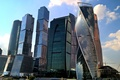 Картинка небо, облака, city, Москва, Россия, Russia, небоскрёбы, sky, modern, Moscow, Москва-Сити, buildings, skyscrapers, travel, arhitecture, ...