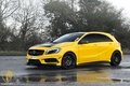 Картинка Mulgari, Yellow, A45, AMG, Mercedes