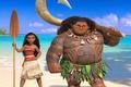Картинка hero, stick, God, Polynesia, demigod, drawing, film, cinema, necklace, island, Moana, Moana Waialiki, sea, Walt ...