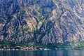 Картинка village, lake, mountains