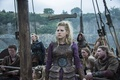 Картинка взгляд, корабль, Lagertha, Katheryn Winnick, одежда, Викинги, Vikings