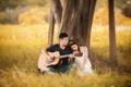 Картинка guitar, love, grass, tree, romantic, couple, playing, girlfriend, poetic, boyfriend