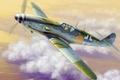 Картинка рисунок, Люфтваффе, одномоторный поршневой истребитель-низкоплан, арт, BF-109K-4, Messerschmitt