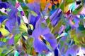 Картинка цветы, рендеринг, лепестки, луг, сад