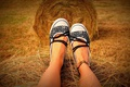 Картинка ноги, legs, сено, загар, hay, обувь