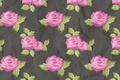 Картинка ярко, розы, цветы, текстура
