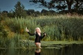 Картинка радость, рыбалка, удача, улов, девушка