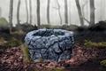 Картинка Sadako Yamamura, The Ring, колодец, туман, игрушки, рука, лес