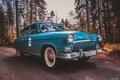 Картинка СССР, Баржа, ГАЗ21, Волга, GAZ, автомобиль, ретро