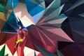 Картинка минимализм, вектор, герой, batman