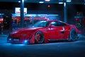 Картинка by Khyzyl Saleem, Color, Nissan, 350Z, Red, Future, Tuning