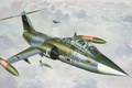 Картинка рисунок, Lockheed, истребитель-перехватчик, Starfighter, F-104